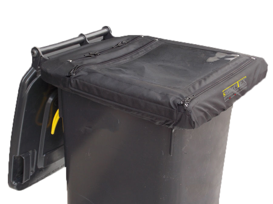 cover for daily tanks (waste container/ granules container) 120 / 240 liter